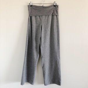 Lululemon Gray Wide Leg Yoga Pants 8